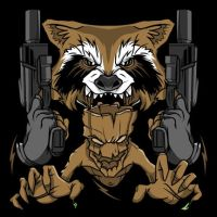 Rocket Groot by cgianelloni