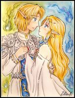 wedding Zelink by zilia-k