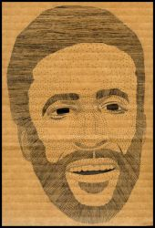 marvin gaye by shwayday