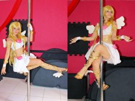 Panty Angel - Pole Dance Cosplay by ThamySorel