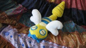 Dunsparce Plush by HottieHulio