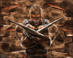 Mortal Kombat Piece by 1nfectious