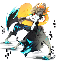 Azure Midna by Teckito