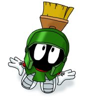 Marvin the Martian cutie by SnowStoat