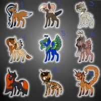 Hybrid Adopts (4/9 Open) by Snerdsister