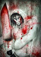 Jeff the Killer by anatomily