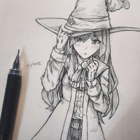 Witch Girl (idk) by Periphone