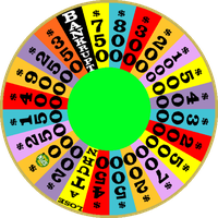 1990 Round 1 Nighttime Wheel with Free Spin by mrentertainment