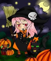 Give Me Color 2014 Halloween Colouring Contest By  by GrumpyNoodleJen