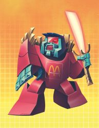 McChangeable fry by dyemooch