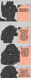 WerewolfAndCannibal - A good wolf with a plan by FuriarossaAndMimma