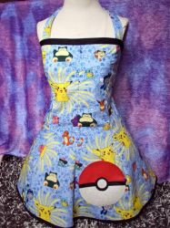 Pokemon Pikachu Dress corset by Alien-Phant