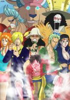 One Piece ~ Mugiwara No Ichimi by Katong999