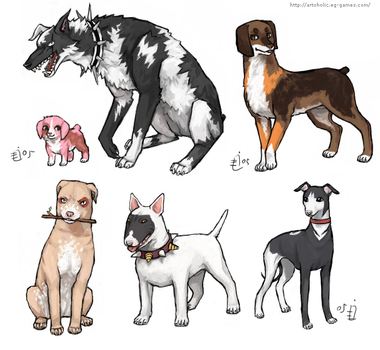 Bleach Doggies 1 by emlan