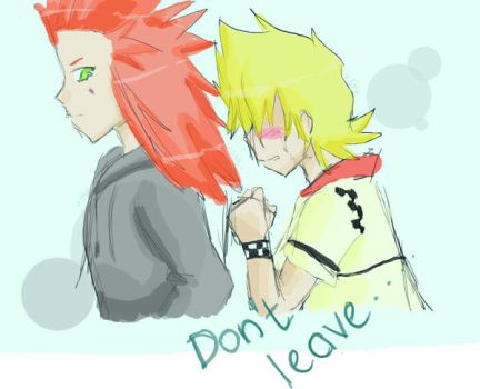 Roxy and Axel by Pochi-Uke
