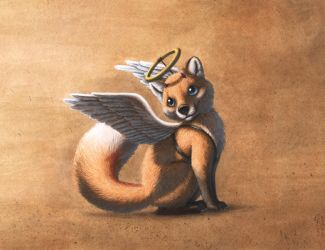 Foxes are innocent by PanHesekielShiroi