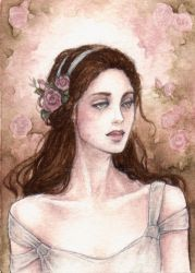 ACEO:Rose Garden III by Achen089