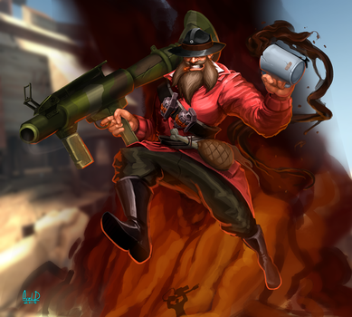 Team fortress 2 Soldier by McFjury