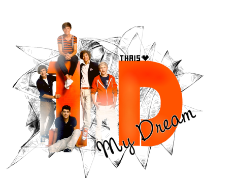 PNG One Direction by StaystrongImunbroken