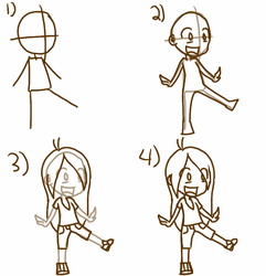 How to Draw a Cartoon Chibi by CCartfulgrl