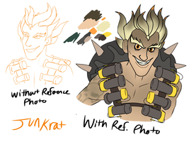 Quick Junkrat thing by Sahel-Solitude