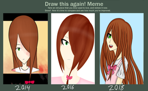 Draw this again: 2018 by BishieDream