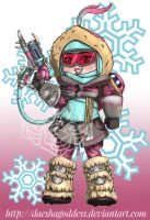 Mei abominable Skin by Daeshagoddess