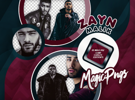 PACK PNG 746 | ZAYN MALIK by MAGIC-PNGS