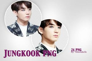 1# Jeon Jungkook Png by vanessakelle