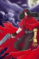 Vincent Valentine by MidnightZone