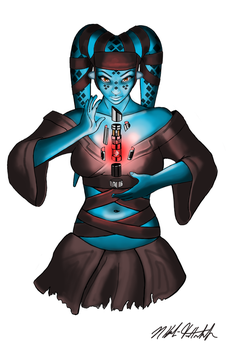 Twi'lek Tattoo Design by LittleFoxStudio