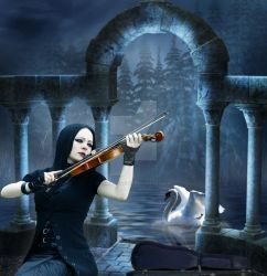 Swan's Symphony by enigma-theory