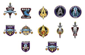 Axanar Patch Concepts by stourangeau