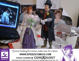 Laurel and Hardy Sculptures by Speezi