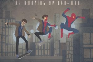 The amazing spider-man - vintage poster by SpookyNedy