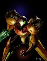 Samus Aran by GhettoRainbowCat
