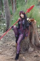 Scathach - Forest XV by MeganCoffey