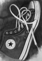 My Sons's Chuck Taylor Shoe by CezLeo