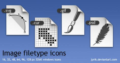 Image filetype icons by JyriK