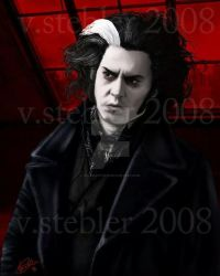 Sweeney Todd by Valeficent616