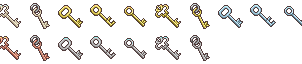 RMMV Key Icons by Amysaurus121