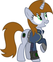 Littlepip by Pegasski