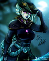 Dark Waters Diana by Hinata1495