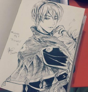FE Inktober day 1 : Leo and Takumi by chalollita