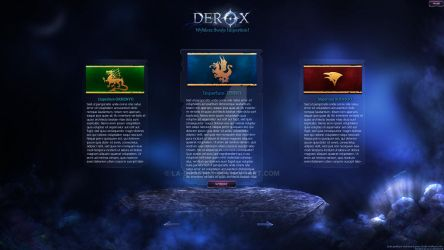 Design of Client interface for Metin2 (DEROX.PL) by LA-Graphic