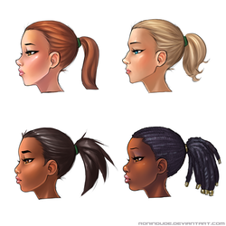 Facial Variation Practice 3-26-2015 by RoninDude