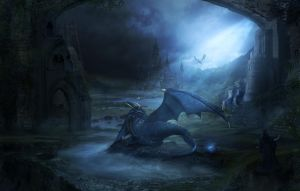 The Dragons Lair by charmedy