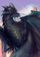 Tiamat by Pearlpencil