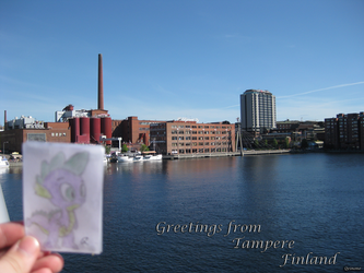 Spike and Tampere by Qeinone