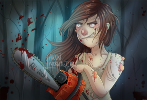 Pandorya // Dead By Daylight by anouki-morgenstern